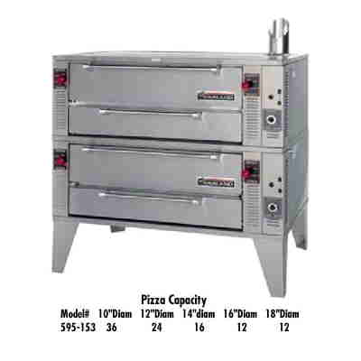 Gas Pizza Oven Double Decks-GARLAND