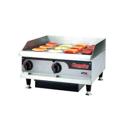"APW Wyott Commercial 24"" Griddle w/ Thermostatic Control"