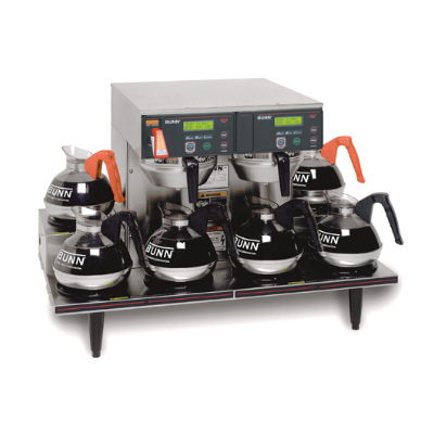 12 Cup Digital Automatic Coffee Brewer with 6 Warmers