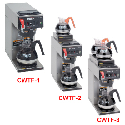 12 Cup Automatic Coffee Brewers-CWTF Serial