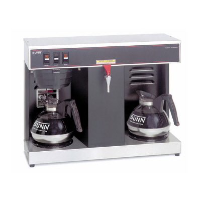 Low Profile Automatic Coffee Brewer with 2 Warmers