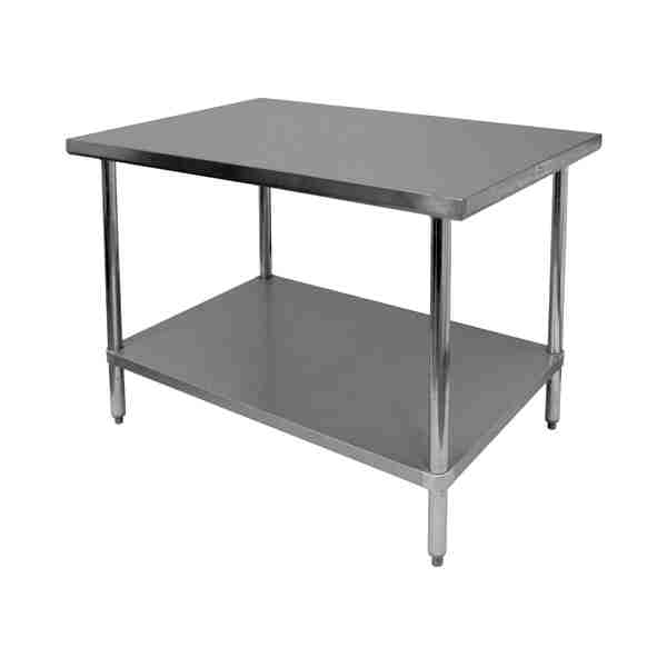 S/S Flat Top Work Tables