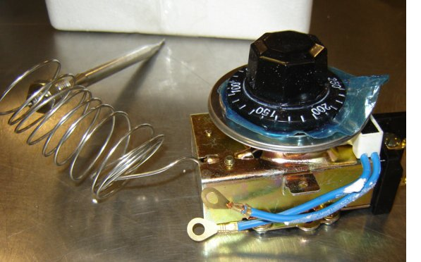 Buffet Table Thermostat Control