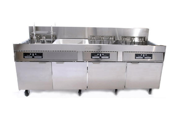 FPC128 136S Large Capacity Fryer 28 kW - Click Image to Close