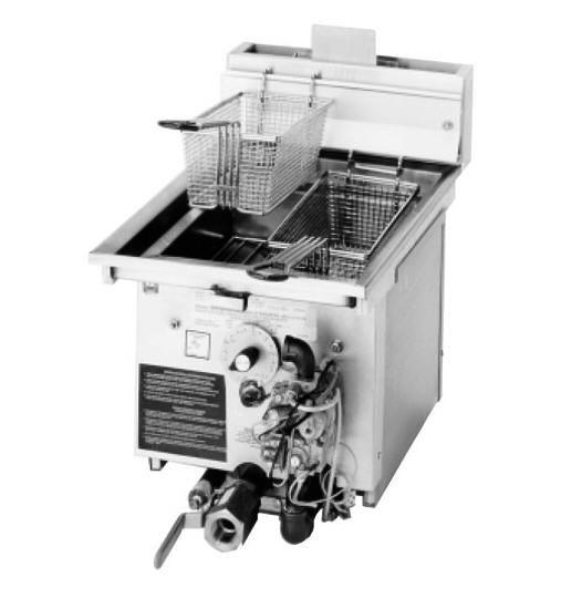 J1X DROP-IN FRYER