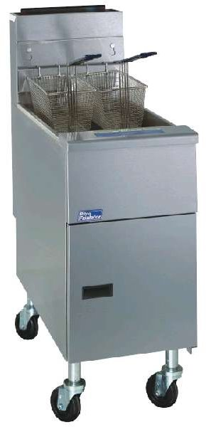 Pitco 35C+S Commercial Fryer 35-40 lb. Stainless Steel Tank