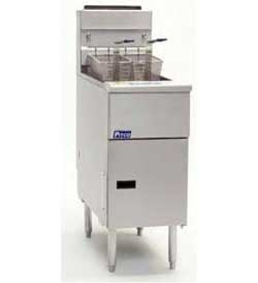 Pitoc Commercial Gas Fryer - Solstice 40-50 lb. Fat Capacity