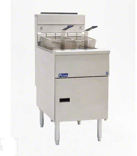 Pitoc Commercial Gas Fryer - Solstice 70-90 lb. Fat Capacity