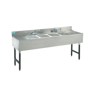 Bar Sink - 7' - 4 Compartments