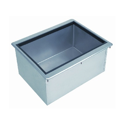 Drop-In Ice Bin w/ Cold Plate-Supreme Metal