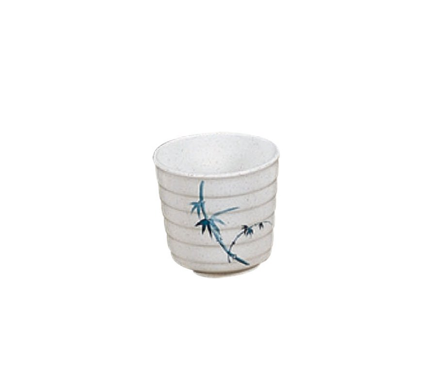 Blue Bamboo 10 oz Tea Cup