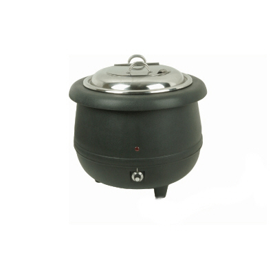STAINLESS SOUP WARMER-BLACK COLOR
