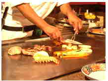 Teppan Yaki Tables
